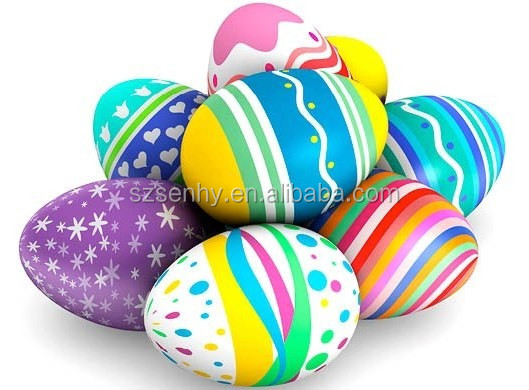 Beauty country style Plastic printed eggs for sale