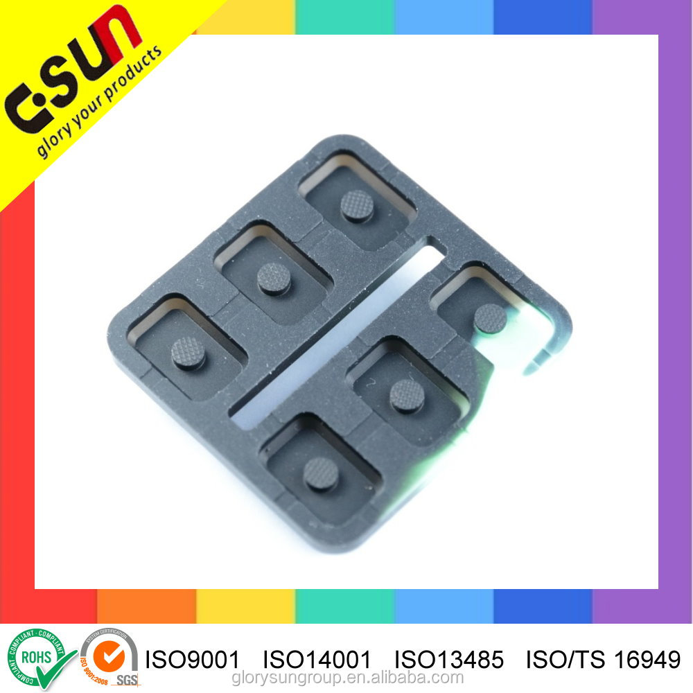 Good conductivity Carbon Pill Conductive Rubber Silicon Keypad