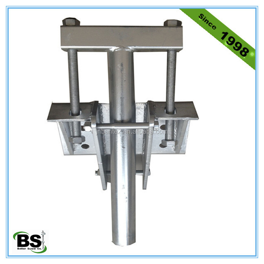 Helical piles underpinning brackets buy helical brackets for Foundation brackets