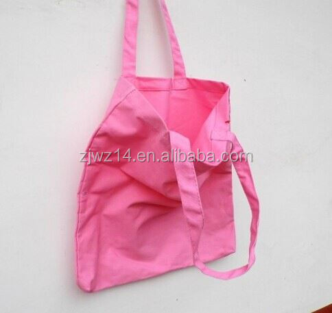 foldable cotton hanging storage bag/ pvc leather bag/ popular pvc coated cotton bags