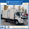 New Arrival 4WD refrigerator tanker truck Chinese manufacturer