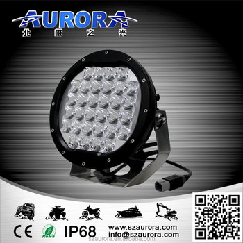 AURORA high power high quality 96W 7'' round light offroad led lighting