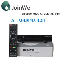 Hybrid Combo Satellite Receiver Dvb-s2 Dvb-t2/c Zgemma H.2h Linux Hd Pvr Ready Set Top Box