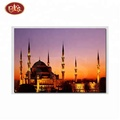 led religious building design canvas prints for wall decor