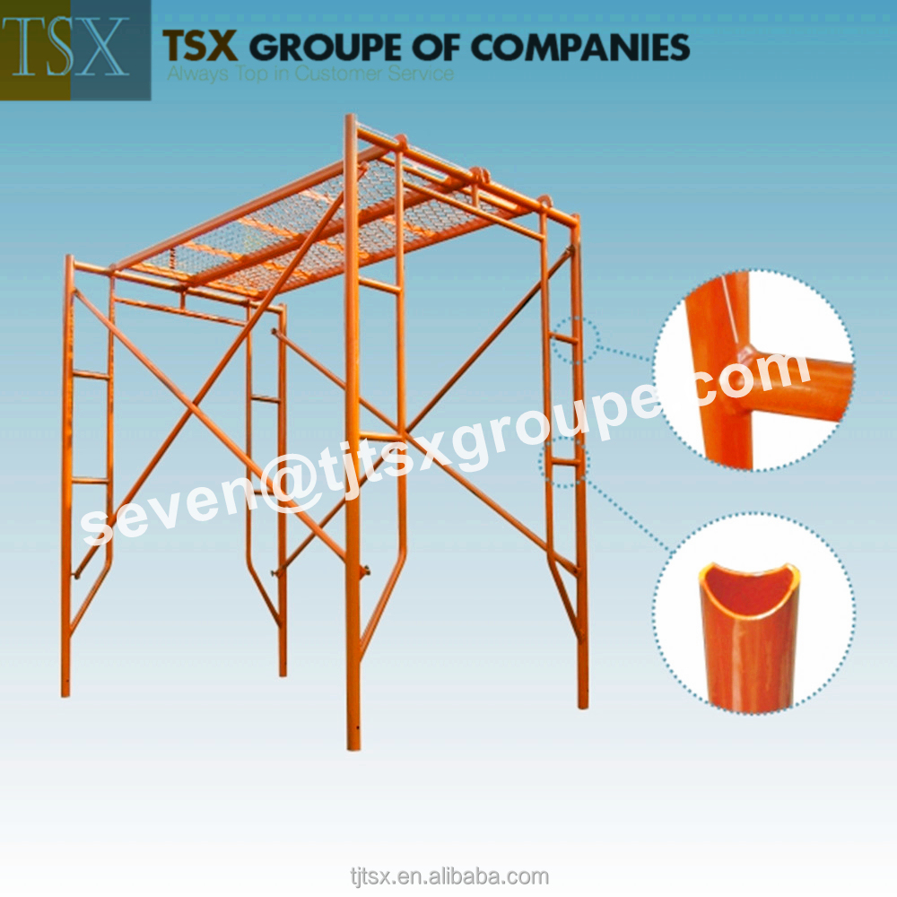TSX-HF2157 ladder/h and door frame scaffolding Walk Through Frames in Scaffolding Metric Size