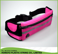 Jogging elastic fanny pack bag waterproof waist pouch