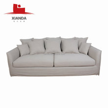 2017 Modern design largest seater nordic style fabric sofa cum bed
