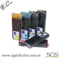 Refillable ink cartridge for HP Designjet T710