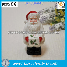 white santa shaped spice jar 2013 ceramic christmas gift