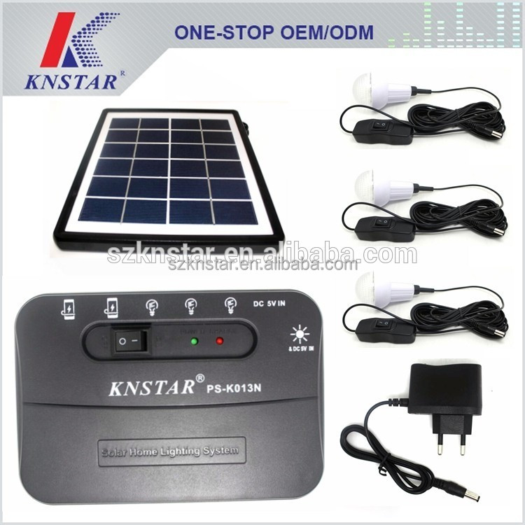 Solar cells for bulb and mobile charging PS-K013N