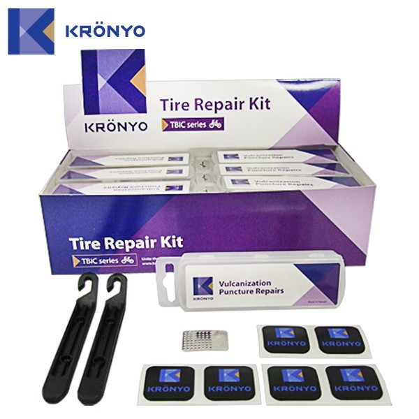 KRONYO tire for bike car tire repair kit glueless tyre tube patch