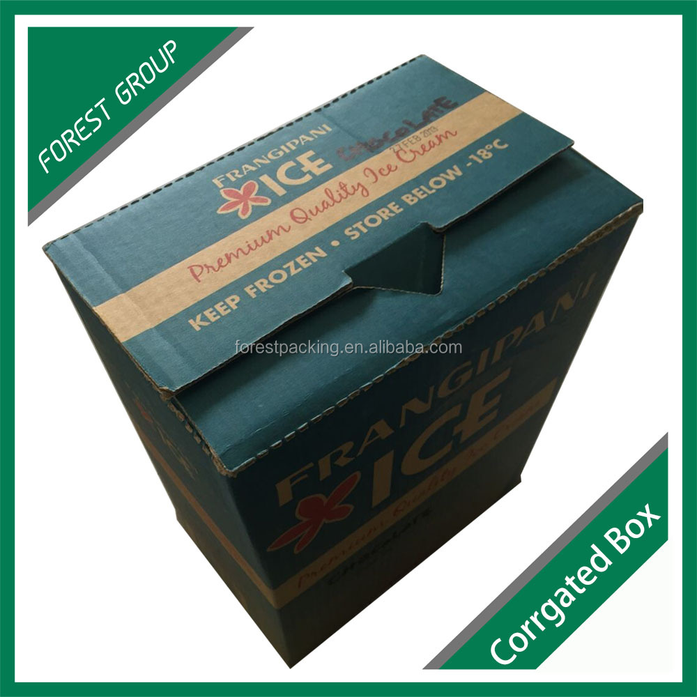 MINUS DEGREE SINGLE WALL CORRUGATED FROZEN FOOD BOX PACKAGING