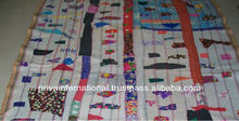 vintage quilts printed kantha quilts handmade quilts