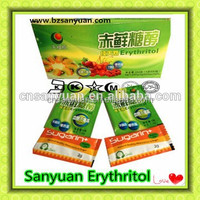 Erythritol natural substitute to sucrose