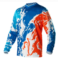 Custom design sublimation motocrosse jersey/racing shirts