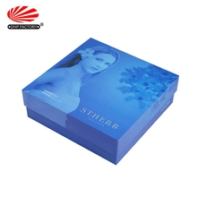 Super Quality Skin Care Packing Boxes Custom With Flocking PVC Tray