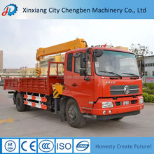 China Famous Brand Chengben Used Crane Mounted Log Trucks with Loaders for Sale