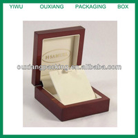 VINTAGE STYLE WOODEN RETRO JEWELLERY BOX JEWELRY CASE Pendant Necklace