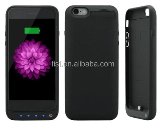 New coming 2016 hot product external power case for iphone6 6S 5800mAh battery case fast charging colorful power bank