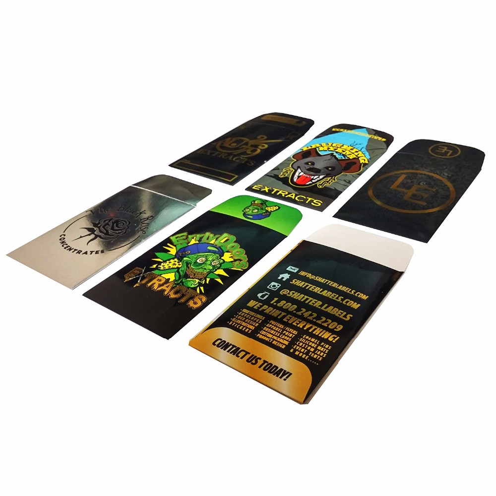 Custom printed paper coin envelopes / small envelopes / mini envelope with logo printing AS-666