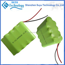 Exclusive for 9.6v nicd aa 500mah rechargeable battery packs 1.2v ni-cd sc1300mah