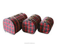 Lightweight Durable Customized red plaid Soft Sided Airline Approved Pet Cat Travel Bag