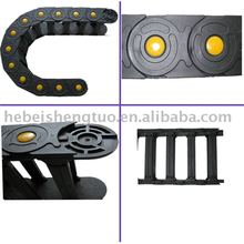 bearing -weight nylon flexible cable chain