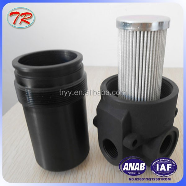 Phosphate hydraulic oil and visual flow indicator PMA030 Filter housing