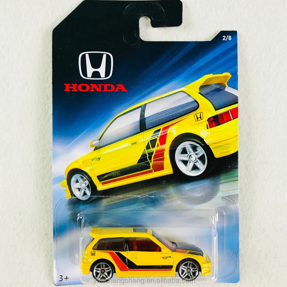 Hot Wheels Sports Car Alloy Model <strong>Civic</strong> HONDA70 Collector's Edition Full 8 FKD22