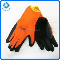Warm Crinkle Latex Coated Cotton Gloves