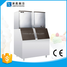 1000kgs stainless steel 304 material cube ice maker with CE certification
