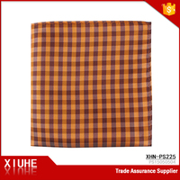 Shengzhou Traditional Colors Checked Fancy Handkerchief for Kids