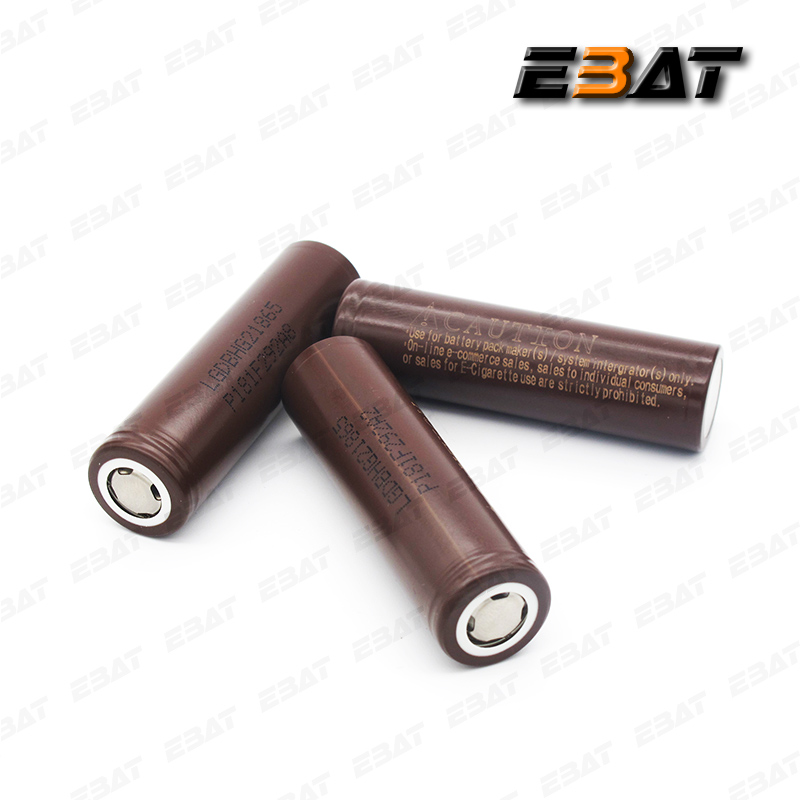 18650 NEW LG hg2 3000mah rechargeable car battery packs lg 18650 chocolate battery