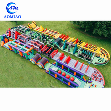 839ft/272m World Biggest Inflatable Obstacle Course Giant Obstacle Maze For sale