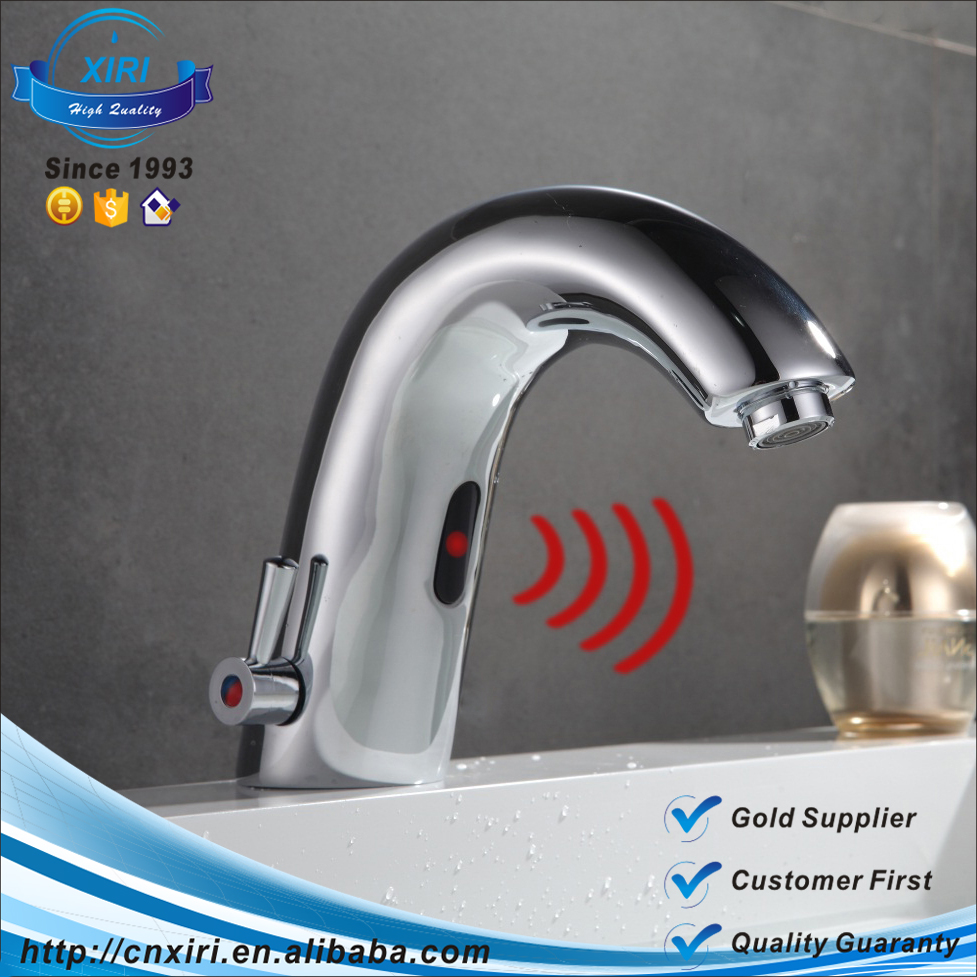 Automatic Hands Touch Free Sensor Faucets Hot And Cold Touchless Water Tap Mixer S8863