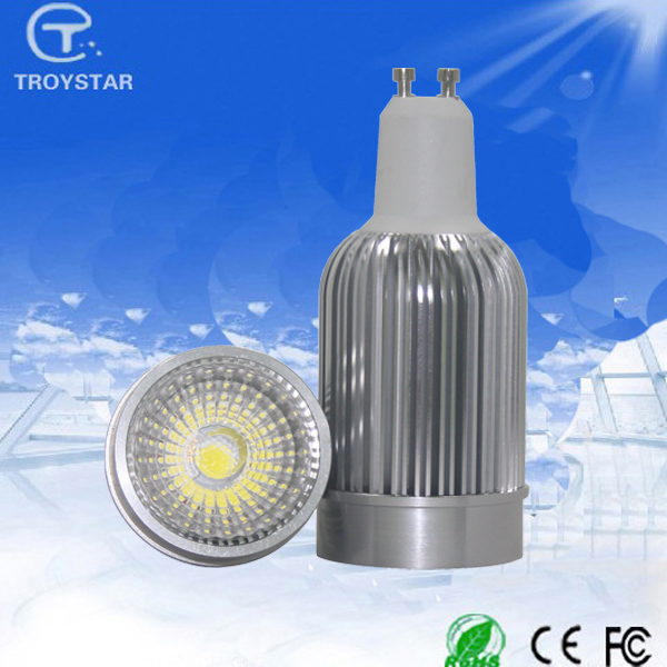 CE ROHS AC85-265V 3 years warranty 550lm high quality dimmable gu10 cob led spotlight mr11 5w