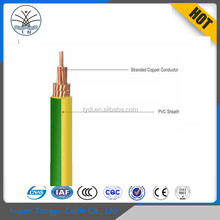 IEC Standard Cable wholesale PVC insulation solid flexible electric wires cables 0.5mm 1mm 2.5mm 6mm 8mm 10mm 25mm