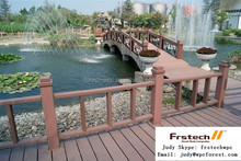Material Waterproof Balcony Slat ANTI- rot Wood Like Outdoor Products Terrace WPC Railing