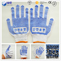 Korean style cotton glove/pvc dotted glove /working glove
