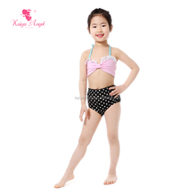 Kids clothes summer baby frock design pictures two piece swimwear children clothes