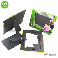 China promotional cheap photo frame cardboard paper photo frame