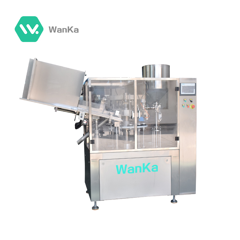 WK350-B Lip Gloss Filling Line Packing Machine With Stable Operation