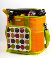 600D/PVC insulated wine cooler bag for frozen food