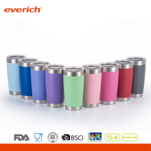 Taobao 20oz Powder Coating Wholesale Vacuum Blank Stainless Steel Travel Mugs
