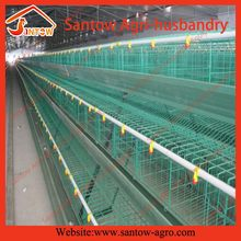 Customized promotional A type cool galvanized broiler meat cage