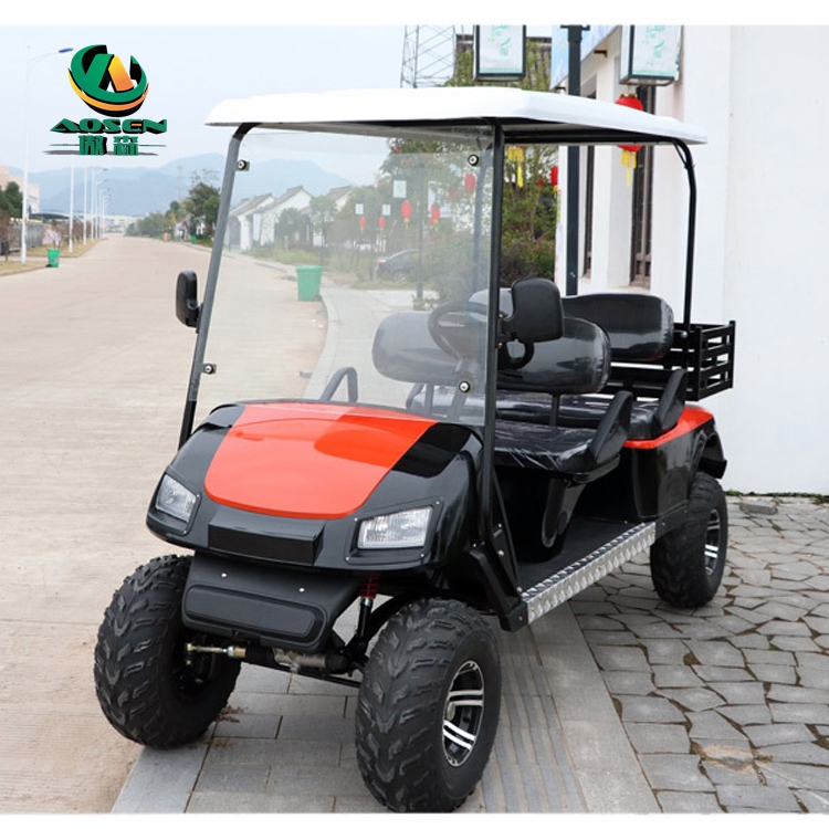 off road 4 seater electric utility vehicles 4x4 stree legal with CE approved for sale