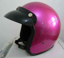 French Motorcycle Helmet Painting Purple Color For Sale