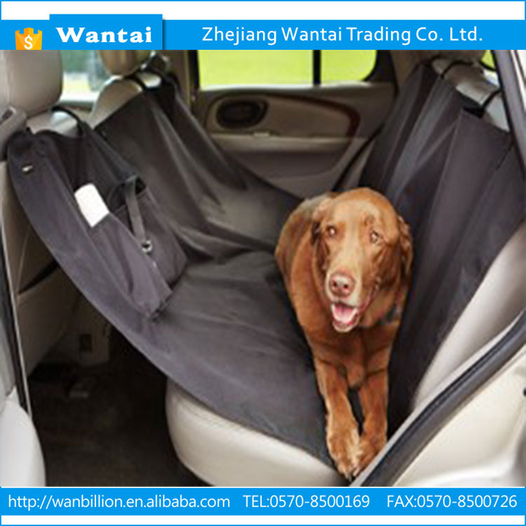 600D oxford fashionable color-resistant stable dog pet car seat cover