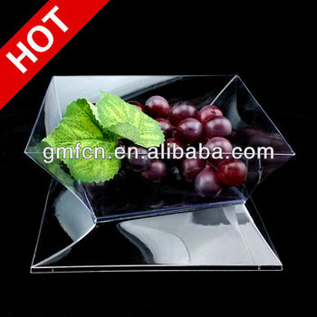 Hot selling Party Catering Wedding Mini icecream sauce pudding Disposable food container