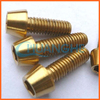 China manufacturer high quality titanium screw bolts motorcycle